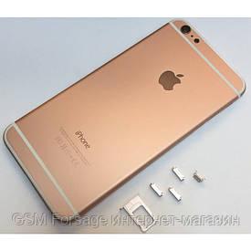 Крышка задняя iPhone 6 Plus  (5,5'') Rose Red