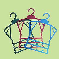 Плечики детские рамка малая цветная