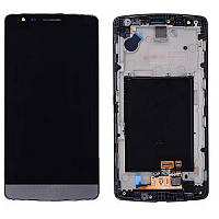 Дисплей LG G3S D722 /D723/D724/D725   complete with touch and frame Black