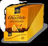Растворимый гарячий шоколад KRUGER 25 гр со вкусом апельсина