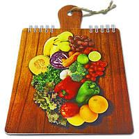 Блокнот для рецептов на жесткой основе CookNotes «Овощи 1»