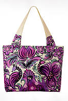 Текстильная сумка Bouquet on Violet