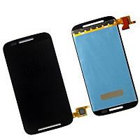Дисплей Motorola Moto E XT1021 /XT1022/XT1025  complete with touch Black