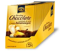 Растворимый гарячий шоколад KRUGER 25 гр со вкусом банана