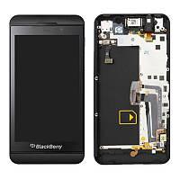 Дисплей Blackberry Z10 complete Black 4G
