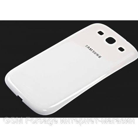 Задняя часть корпуса Samsung Galaxy S III GT-I9300 White orig