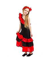 Детский карнавальный костюм Испанки для девочки.( от 4 до 12 лет. )