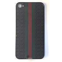 Крышка задняя Iphone 4S Black GUCCI Original qwality