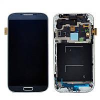 Дисплей Samsung Galaxy S4 GT-I9500 Original comlete with frame  Dark Blue