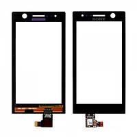Тачскрин Sony Xperia U ST25i Black Original