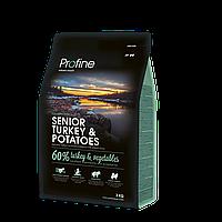 Profine Senior Turkey & Potatoes корм для пожилых собак, индейка с картофелем, 3 кг
