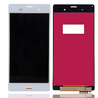 Дисплей Sony Xperia Z3 D6603 / D6633 / D6643 / D6653 complete with touch White
