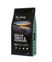 Profine Senior Turkey & Potatoes корм для пожилых собак, индейка с картофелем, 15 кг