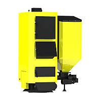 Пеллетный твердотопливный котел с автоматической подачей топлива Kronas Combi 125 кВт. до 1250 м. кв.