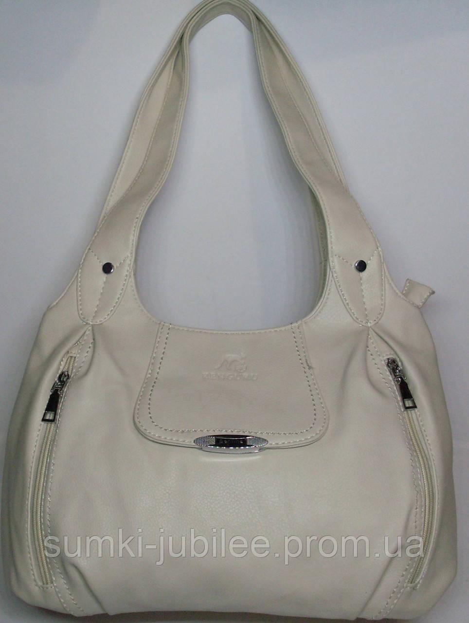 1ed6c44cb17e Женская сумка реплика Kenguru молочного цвета - Интернет-магазин