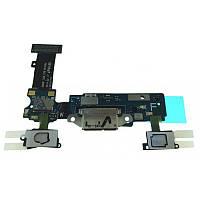 Разъем зарядки Samsung G900V Galaxy S5 complete with flat and mic Original