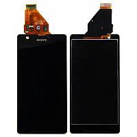 Дисплей Sony Xperia ZR C5502 complete Black