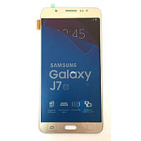 Дисплей Samsung Galaxy J7 2016 SM-J710F Original complete with touch Gold