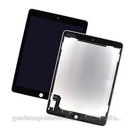 Дисплей iPad 6 / AIR 2  Complete with touch Black Original