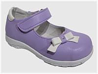 Детские туфельки сиреневые для девочки VITALIYA, размеры 23-27
