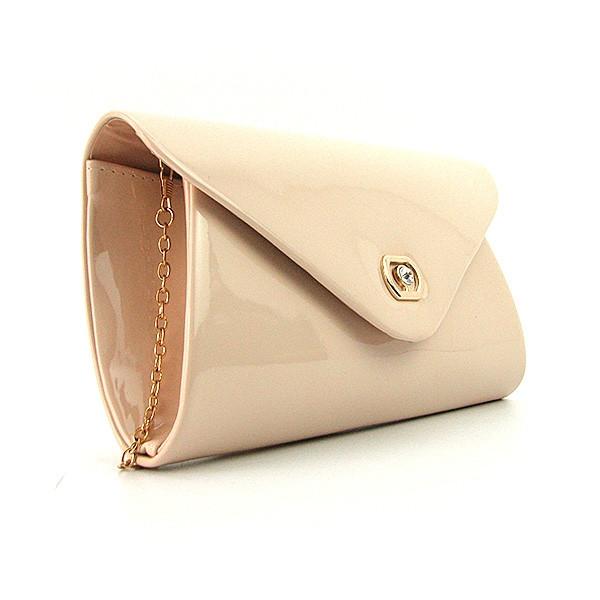 6ec3fffa24d4 Лаковая маленькая сумочка на цепочке пудра: продажа, цена в Днепре ...