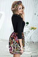 "Платье ""Цветы"" Код 074"