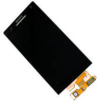 Дисплей Sony Xperia S LT26i Black with touch