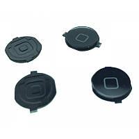 Кнопка центральная iPhone 3GS Black (пластиковая)
