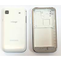 Задняя часть корпуса Samsung Galaxy S GT-I9000 White+средняя часть+рамка orig