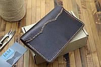 Кожаный бумажник с отделением для документов (281015)
