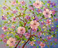 «Цветы яблони» картина маслом
