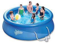 Надувной бассейн Swig pools 3,66 х 0,91 с фильтром 2.2 м3 в час (220 В), фото 1