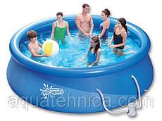 Надувной бассейн Swig pools 3,66 х 0,91 с картриджным фильтром