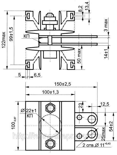 Охладитель О123-100