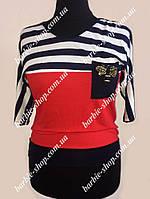 Кофта-футболка  для женщин Пчелка 0387