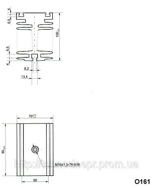 Охладитель О161-80