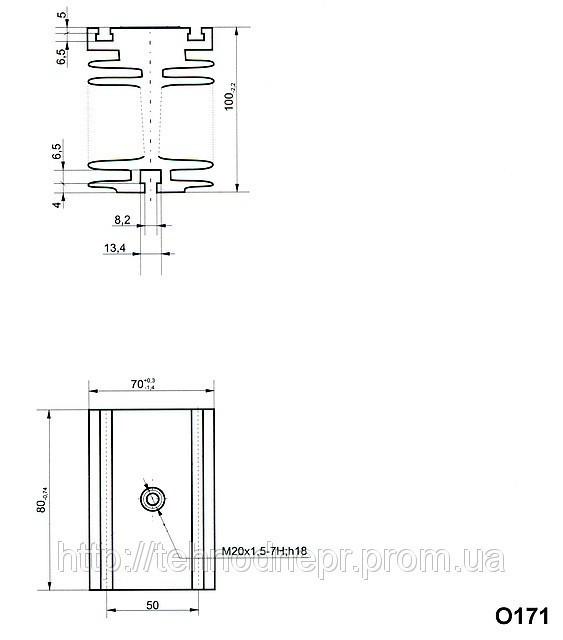 Охладитель О171-80