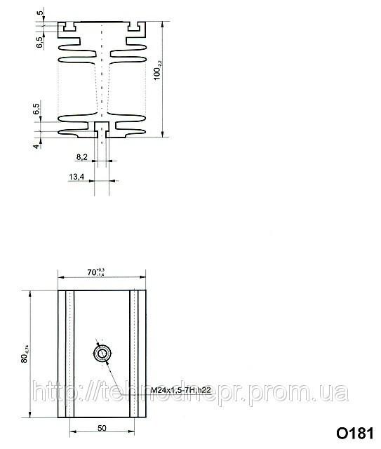 Охладитель О181-80