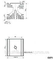 Охладитель О271-110