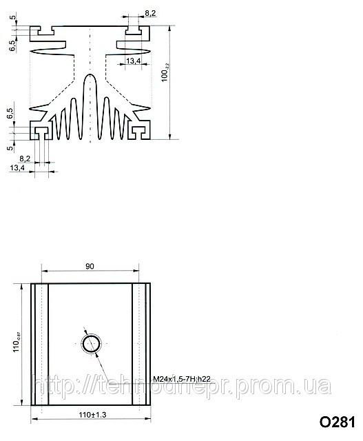 Охладитель О281-110