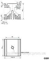 Охладитель О281-110, фото 1