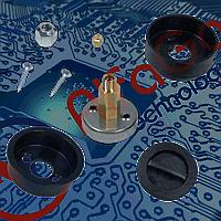 Заправочное устройство Tomasetto с крышкой для врезки в бампер