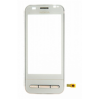 Тачскрин Nokia C6-00 White Original с рамкой