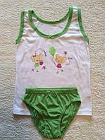 Комплект белья для девочки (майка и трусы)