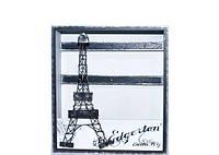 """Оригинальная ключница - картина настенная """"Эйфелева башня"""" Прованс деревянная 6 крючков"""