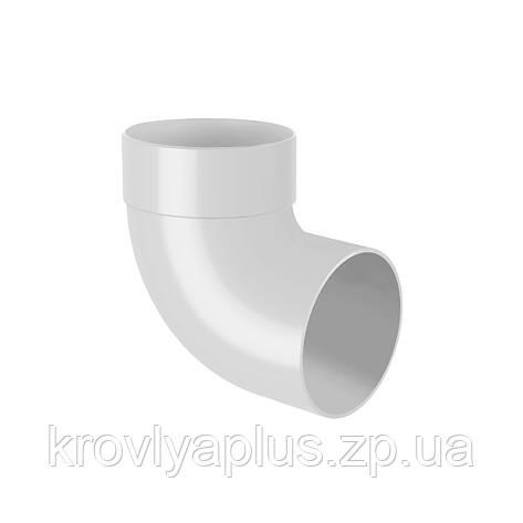 RАINWAY Колено трубы, отвод одномуфтовый 67°, фото 2