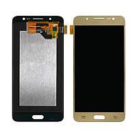 Дисплей Samsung Galaxy J5 2016 SM-J510 Original complete with touch Gold