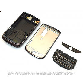 Задняя часть корпуса BlackBerry Torch 9800 Black Complete orig
