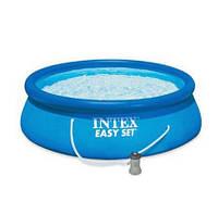 Бассейн семейный INTEX (28142) с картриджиным фильтром