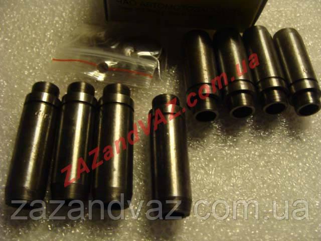 Направляющие втулки клапанов Нексия 1.5 Nexia 1.5 8 кл. АМЗ Луганск 8 шт. 96350912